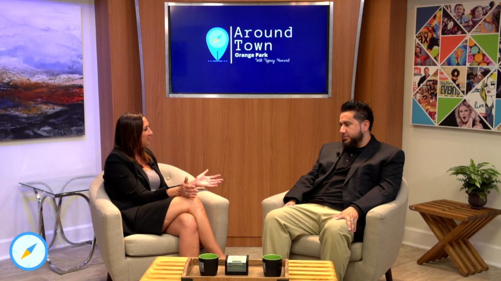 Around Town - Orange Park with Andres Lavanderos from Synergy Solar