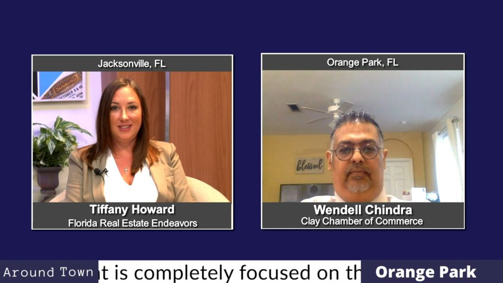 Around Town - Orange Park with Wendell Chindra from the Clay Chamber of Commerce